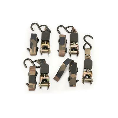 8 ratchet straps 4 pack set of