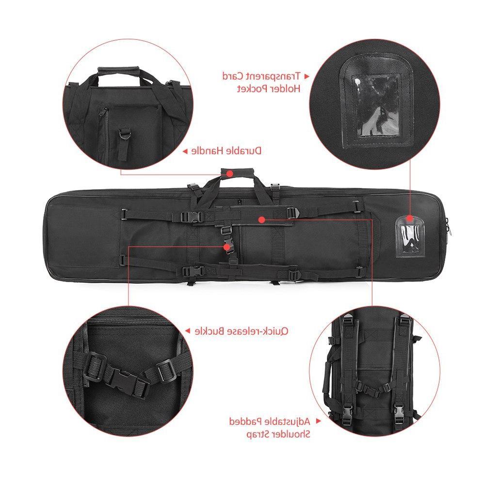 95cm/120cm Outdoor <font><b>Hunting</b></font> <font><b>Gear</b></font> Military <font><b>Bag</b></font> Case <font><b>Hunting</b></font> Padded Gun Accessories Carrying Storage Holster