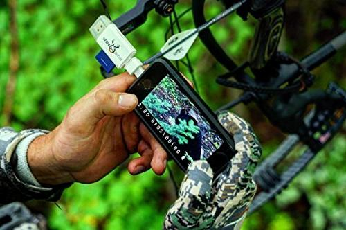BoneView SD MicroSD Card Reader for Apple iOS, Trail Deer Hunting Scouting & Memory on iPad 5, X - Plus Lightning App