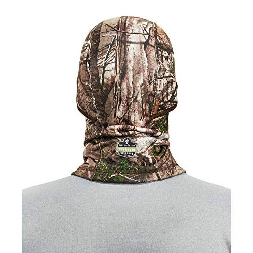 Ergodyne 6823 Face Mask, Thermal Fleece, RealTree