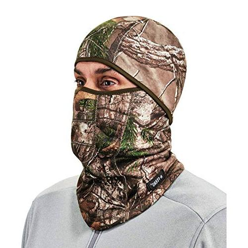 Ergodyne Ski Balaclava, Face Thermal Fleece, RealTree
