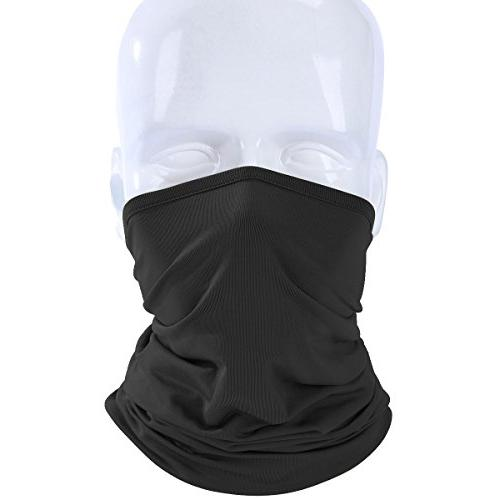 JIUSY 2 Neck Gaiter Face Outdoor Men Pack of