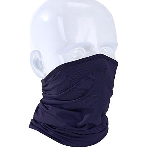 JIUSY Lightweight Neck Gaiter Neck Warmer Face Mask Windproo