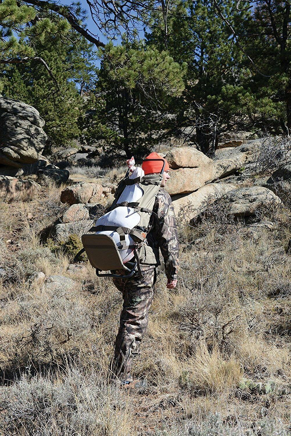 Large Hunting Freight Hiking Gear Pack Elk Meat