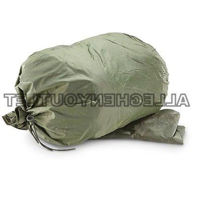 NEW Army Wet Weather Clothing Bag Military Green Waterproof