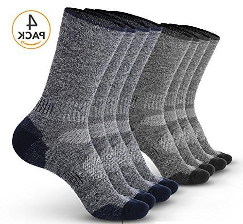 Pembrook Wool Sport Socks - L/XL  - Soft, Warm, Thermal Meri