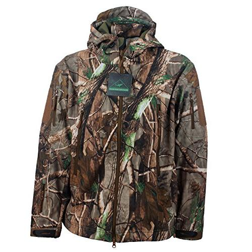 ReFire Gear Shell Military Tactical Outdoor Hunting Hooded Tree Camo XXX-Large