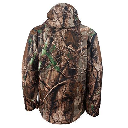 ReFire Men's Shell Jacket Outdoor Hooded