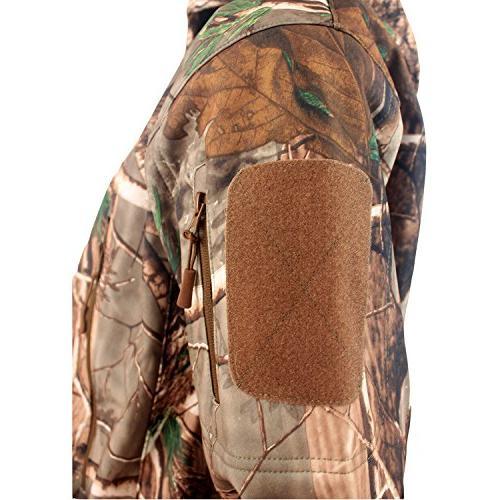 ReFire Gear Outdoor Hunting Fleece Hooded Coat XXX-Large