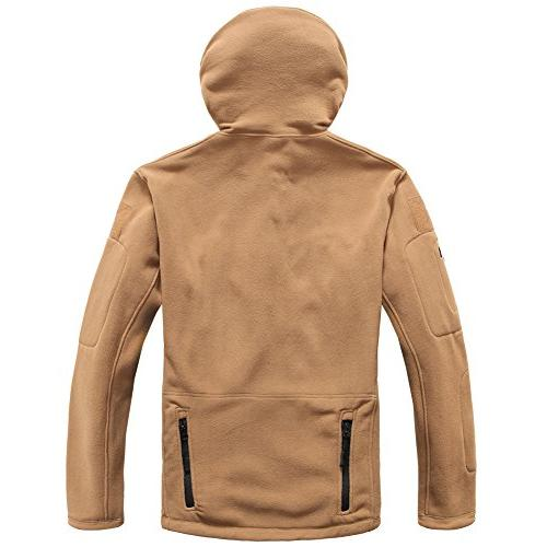 ReFire Gear Men's Warm Military Sport Hoodie Jacket