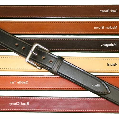 "Tucker and Byrd 40"" Straight 1 1/4"" Gun Belt Black Chrome"
