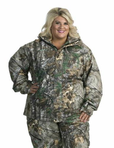 Women's Coat Gear- Realtree Camo