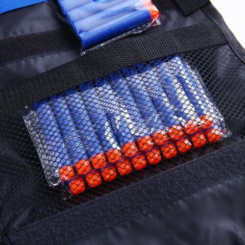 Adjustable Vest Gear Set Pocket for NERF