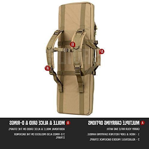 Tactical Double Pistol Bag 46 Flat Earth