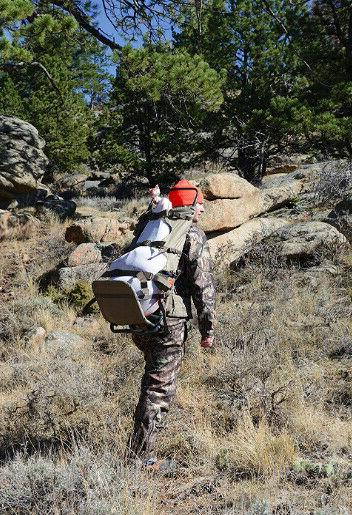 Backpack Frame Commander Freighter Pack Hunting Camo Camping Gear