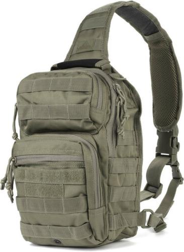 Backpack Rover Sling Shoulder Strap Tactical Bag Travel Lugg
