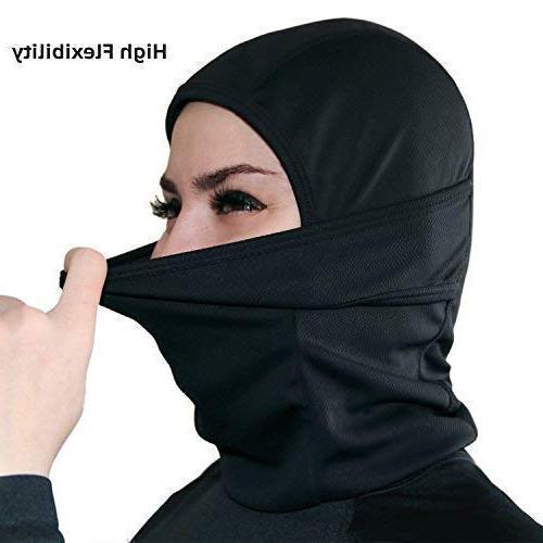 Self Pro Windproof Ski Weather Face Mask Hood