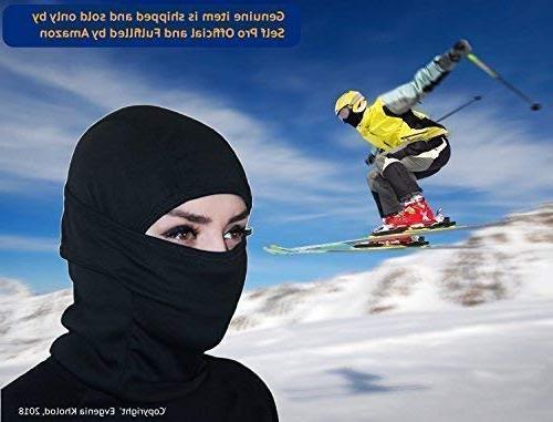 Self Windproof Ski Weather Face Hood