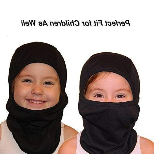 Self Windproof Mask Weather Hood