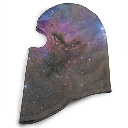 Balaclava Galaxy Universe Sky Face Masks UV Ski Neck Warmer Cycling Youth