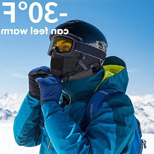 KINGBIKE Windproof Face Mask Motorcycle Neck Tactical Hood Fleece Men Snowboard Hat Outdoors Helmet
