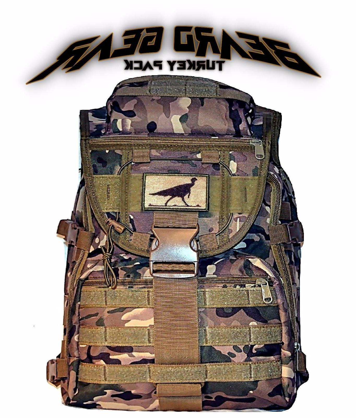 beard gear turkey hunting camo backpack scout