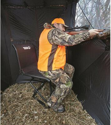 big boy comfort swivel hunting blind chair