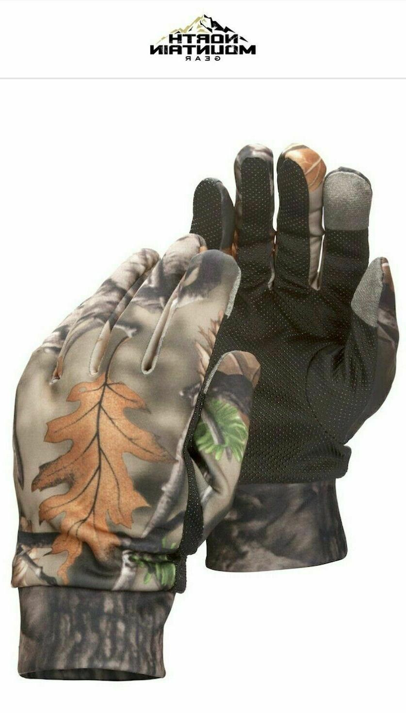 bogo smartphone compatible fall brown camo gloves