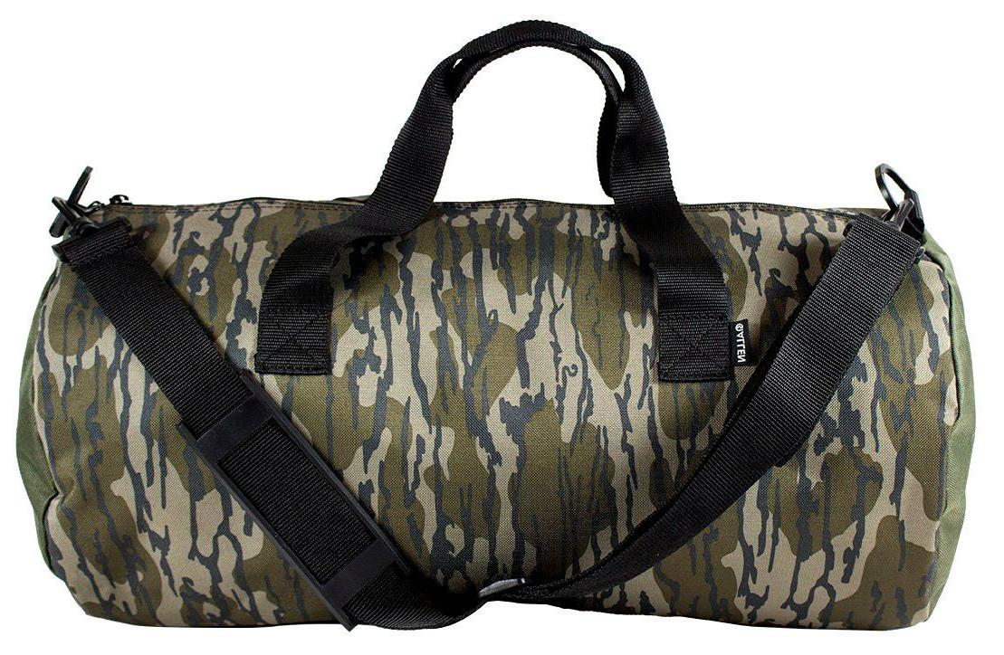 bottomland camo duffel bag hunting gear duty