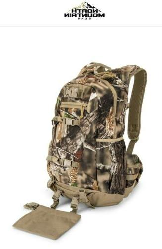 brown camo backpack