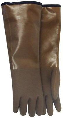 Work Gloves Brown Decoy Long Covers Wrist Forearms Outdoor G