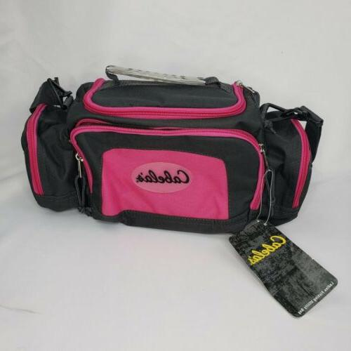 cabela s gray pink catch all gear