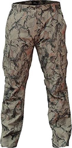 Natural Gear Camo Pants for Men and Women, Lightweight 6-Poc