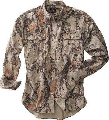 Natural Gear Natural Camo Bush Shirt XX-Large 101-2XL
