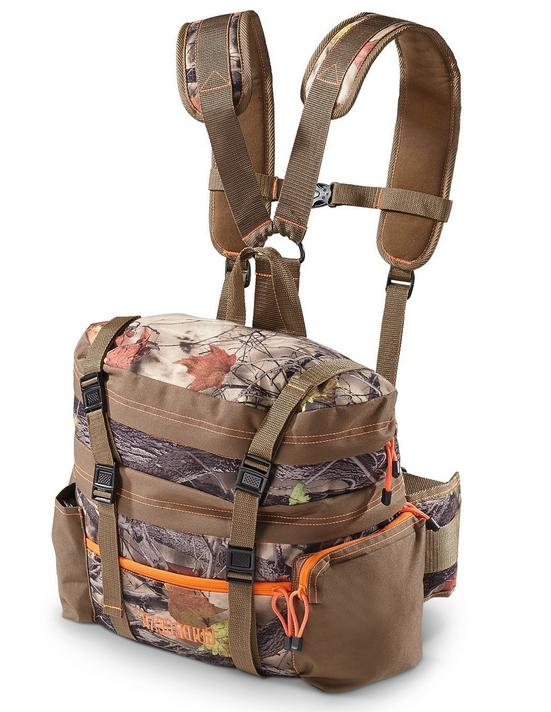 Camo Bag Pouch Tactical Hiking Gear Storage