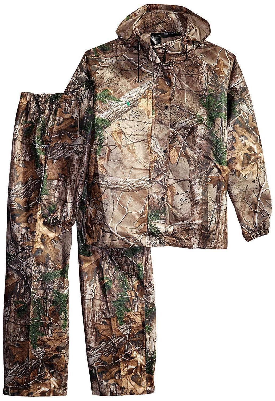 camo rain gear waterproof jacket pants water