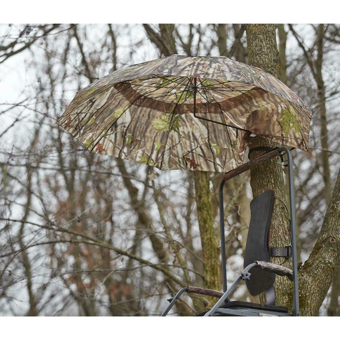 camo umbrella blind