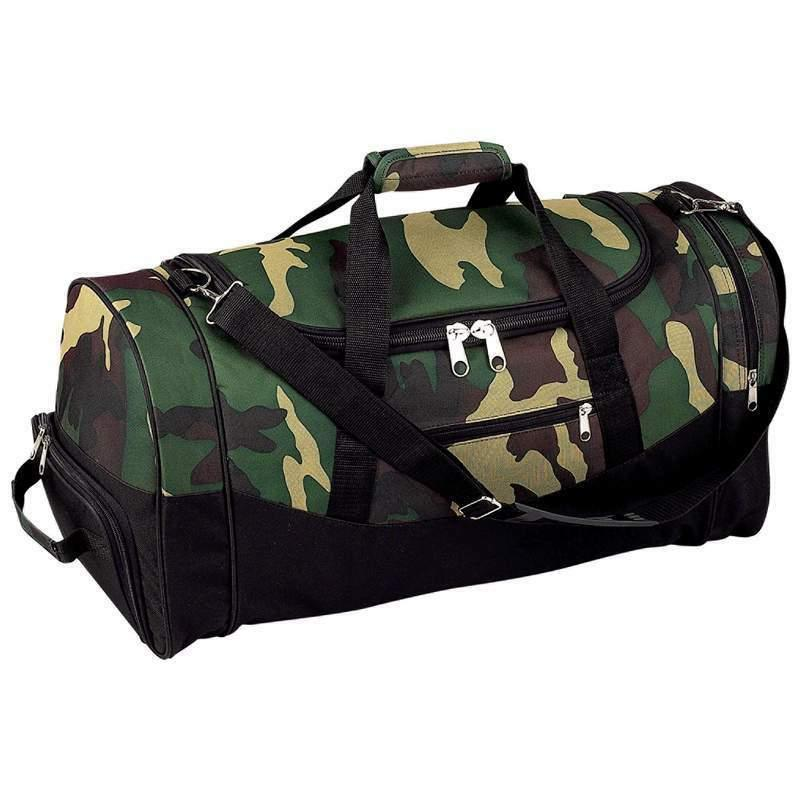 camo water repellent tote bag