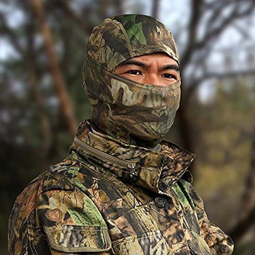 JIUSY Balaclava Ninja Outdoor Motorbike Hunting Airsoft Helmet Liner Gear Wind Dust Sun UV Full Face Mask