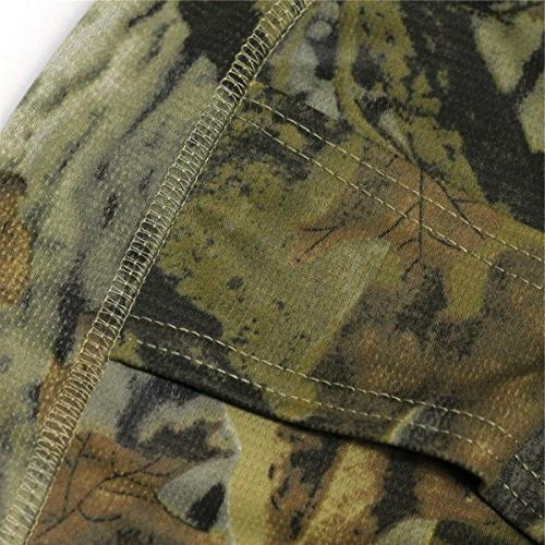 JIUSY Camouflage Ninja Outdoor Motorcycle Motorbike Hunting Airsoft Paintball Helmet Liner Gear Dust UV Protection Face Mask