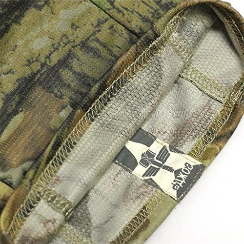 JIUSY Camouflage Ninja Outdoor Motorbike Military Tactical Airsoft Gear UV Face SC-02