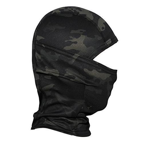 JIUSY Camouflage Ninja Motorbike Hunting Airsoft Helmet Gear Wind UV Face Mask