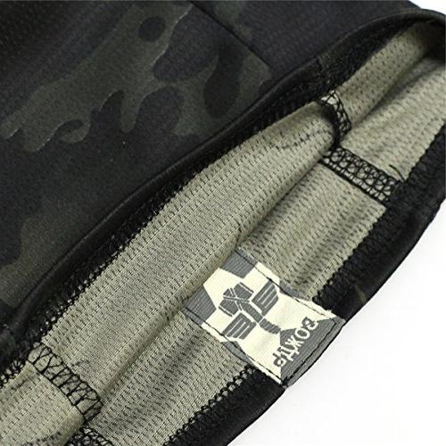 JIUSY Balaclava Ninja Outdoor Motorcycle Motorbike Military Airsoft Liner Gear UV Protection