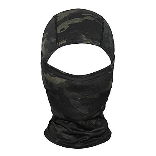 JIUSY Ninja Motorbike Airsoft Helmet Gear UV Face