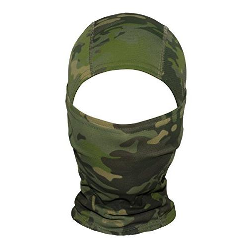 JIUSY Camouflage Ninja Outdoor Motorcycle Motorbike Airsoft Paintball Gear Wind Dust Sun Face Mask
