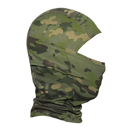 JIUSY Balaclava Ninja Motorcycle Motorbike Tactical Airsoft Paintball Helmet liner Gear Sun UV Protection Breathable Face Mask