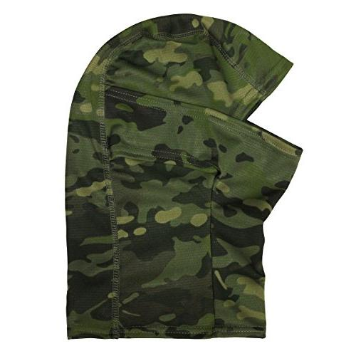JIUSY Camouflage Ninja Motorbike Military Tactical Airsoft Paintball Gear Dust UV Protection Face