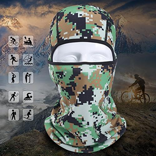 AXBXCX Breathable Balaclava Mask UV Protection for Fishing Hunting Off-Roading Motorcycle ATV 04