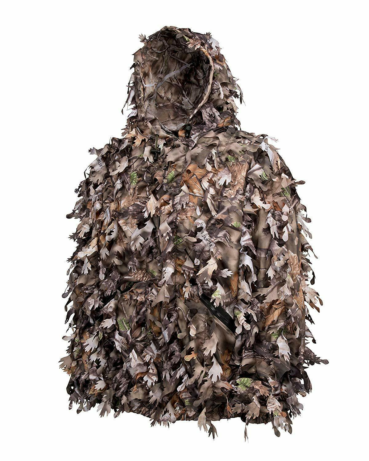 North Ghillie 3D Hunting Leafy Pockets