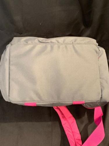 Cabela's Catch Gear Bag Pink Gray Fishing Range NWOT